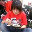 金子さん弁当を食す。