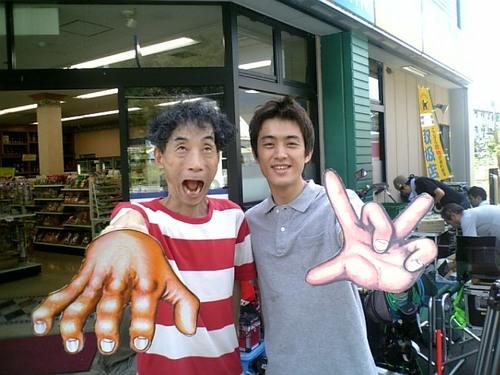 楳図さんと太郎